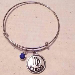 💜 bracelet bangle Virgo charm